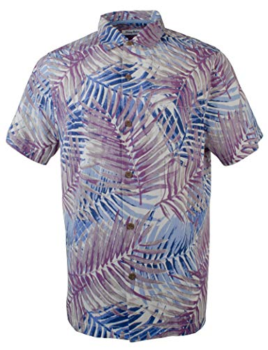 Tommy Bahama Men's Big & Tall San Juan Fronds IslandZone Camp Shirt-LS-XLT