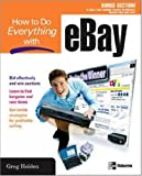 How to Do Everything with EBay, Greg Holden, 0072254262