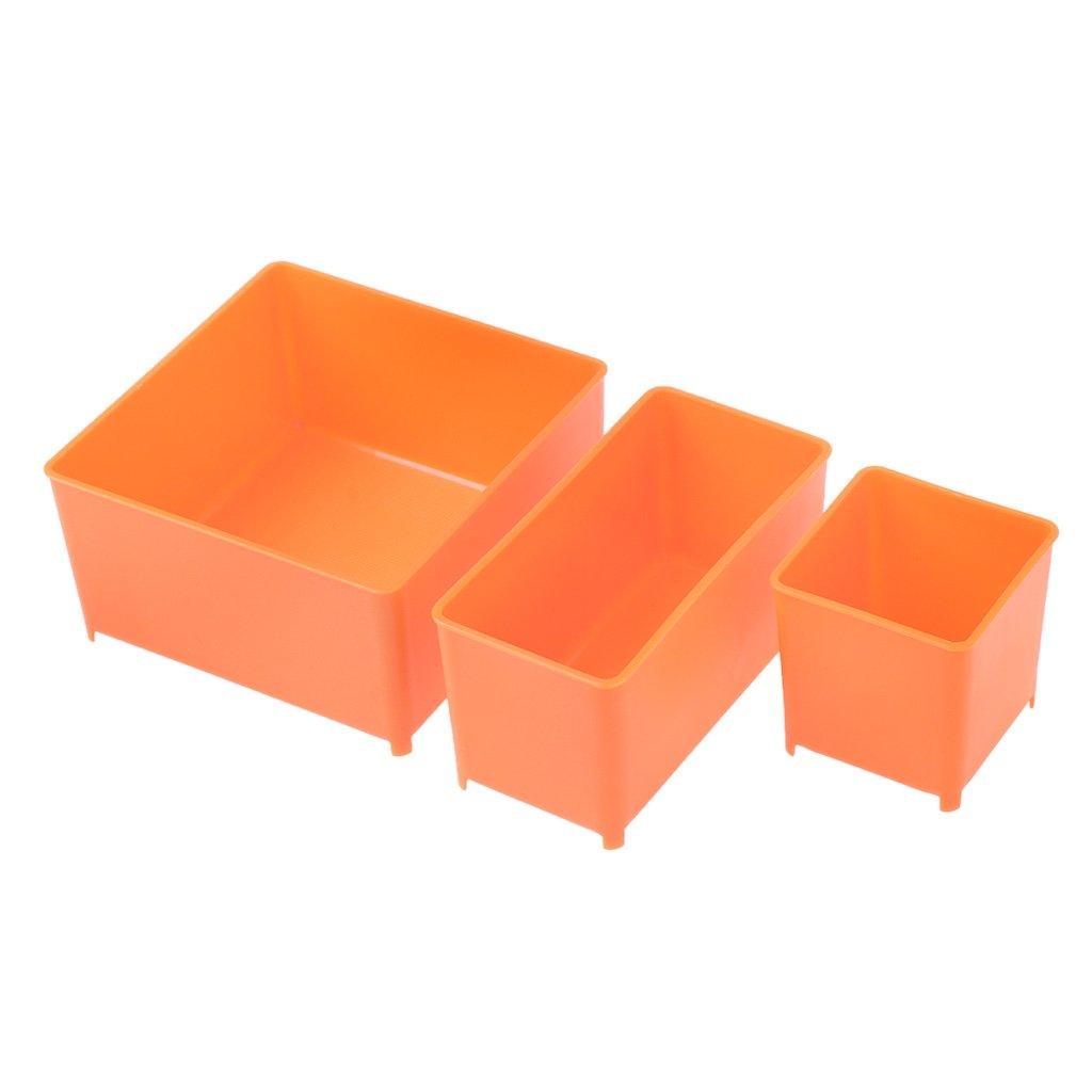ZOOMY Caja de Almacenamiento de Herramientas de Transporte port/átil Llave de Tornillo Piezas Hardware Organizador Caja