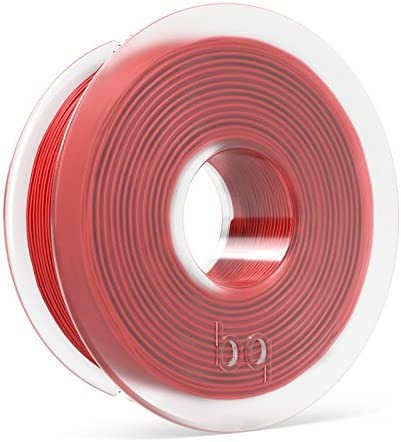 BQ - Filamento PLA de diámetro 1.75 mm, 300 g, Color Ruby Red ...