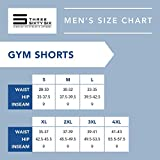 Dry FIT Gym Shorts for Men - Mens Workout Running