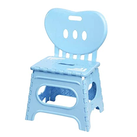 Wondrous Amazon Com B Blesiya Kids Plastic Foldable Chair Step Stool Gmtry Best Dining Table And Chair Ideas Images Gmtryco