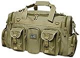"""22"""" 2600cu.in. NexPak Tactical Duffel Range Gear Bag TF122 TAN"""