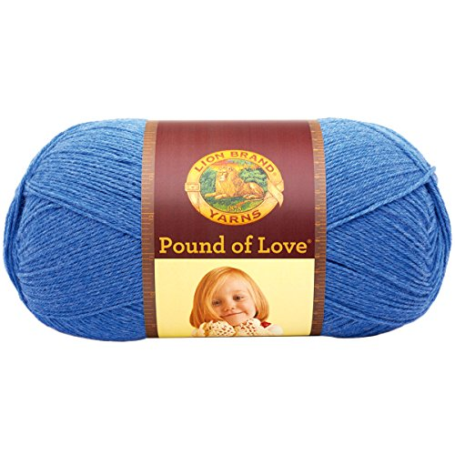 Lion Brand Yarn Hometown Yarn, Denim