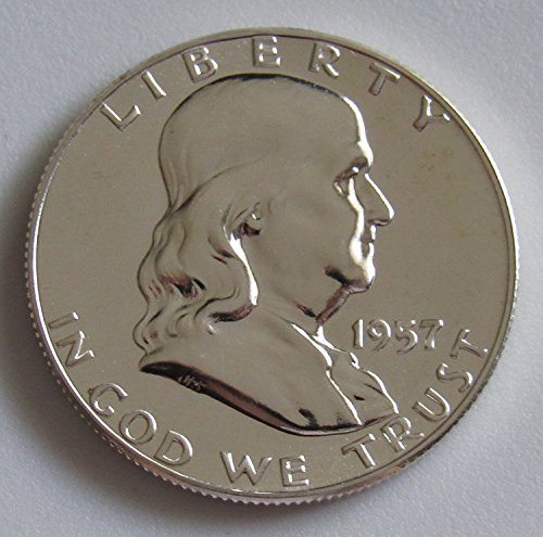 1957-gem-proof-pr63-plus-franklin-half-dollar-1-2-proof-us-mint