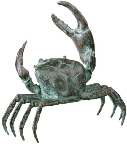 Small Bronze Crab Sculpture - Crab Bronze Sculpture
