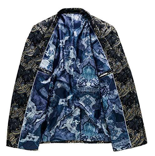 Deux De Boucle Costumes Loisirs D'affaires Costume Black Veste Mode w4XnzpxOq