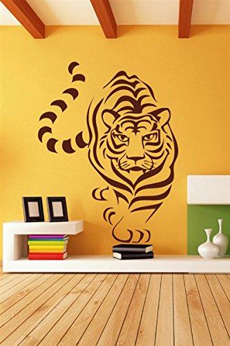 91cb9b67e2a Buy Decor Kafe Decal Style Tiger Line Art Wall Sticker Wall Poster (PVC  Vinyl