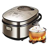 Aicooker Smart IH Type Rice Cooker-Large 8 Cup (Uncooked)...