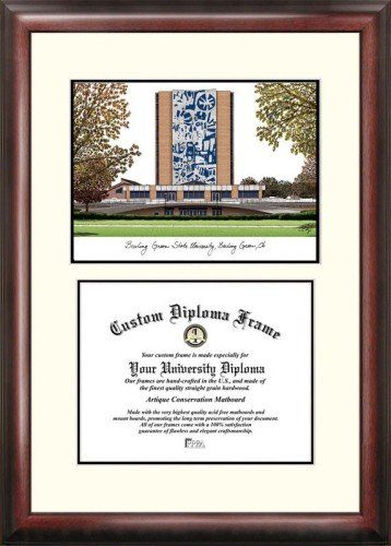 (Bowling Green State University Scholar Framed Lithograph with Diploma)