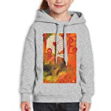 AugXmerry Daisy Loves Me (2c) Youth Pure Cotton Heavy Blend Youth Pullover Hooded Sweatshirt Hoody