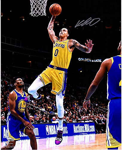 Lakers Los Autographed Photograph Angeles - Kyle Kuzma Los Angeles Lakers Autographed 16