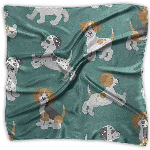 Square Scarf Hipster Puppy Pug Dog Handkerchief Unisex Handkerchief Tie For  Men