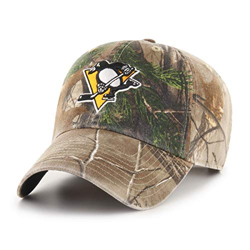 7d10c825377 Pittsburgh Penguins Camouflage Caps. NHL Pittsburgh Penguins Realtree OTS  Challenger Adjustable Hat ...