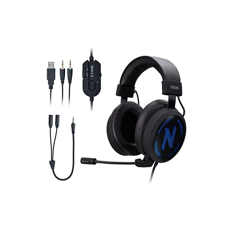 ROSEWILL Gaming Headset with Mic and 7 C