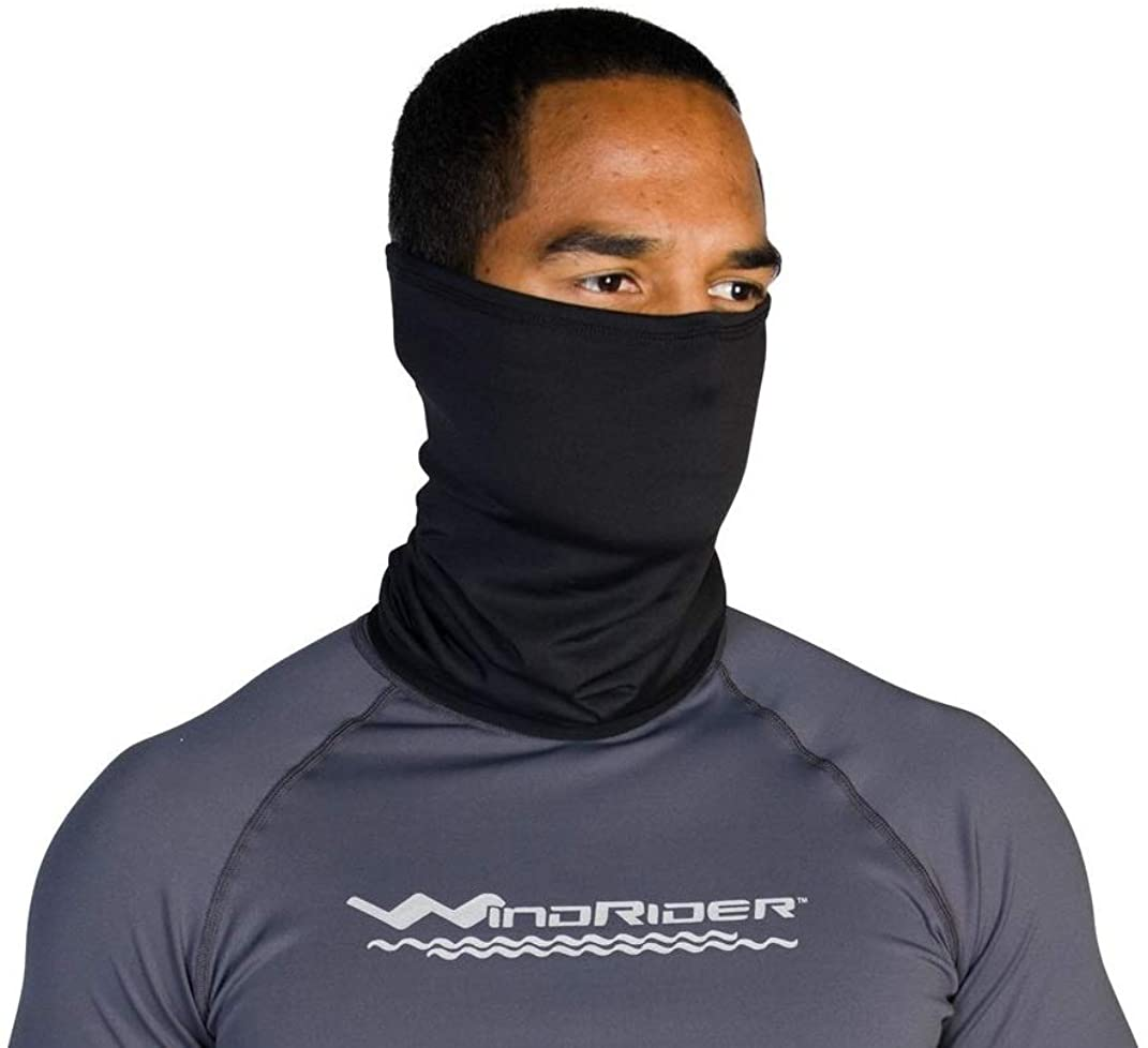 Born of Water Neck Gaiter Back The FCK Up Fishing Face Mask Shield UV Protection