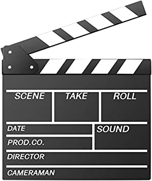HOLLYWOOD MOVIES CLAPPERBOARD CLAPPER BOARD FILM MAKING