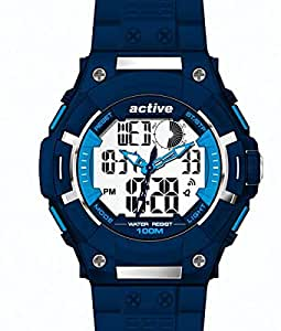 Active Analog-Digital sports watch Blue (YP 12593)