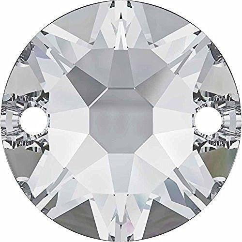 3288 Swarovski Sew On Crystals Xirius Crystal | 10mm - Pack of 96 (Wholesale) | Small & Wholesale Packs by Swarovski