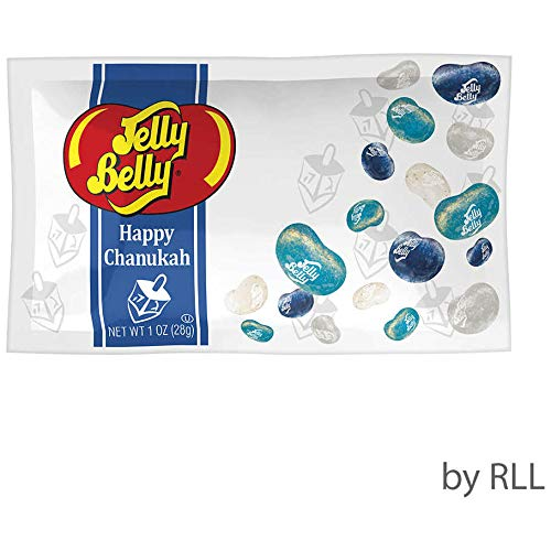 Happy Chanukah Jelly Bellies - 1oz Bag OU Certified Kosher