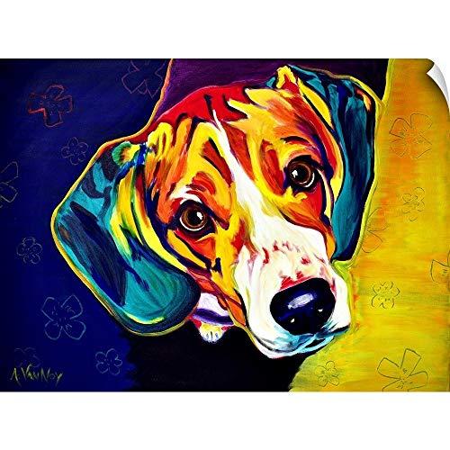 (CANVAS ON DEMAND Beagle Bailey Wall Peel Art Print, 16