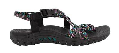 Trendy Shoes Women's Skechers Reggae Loopy Sandals Brown