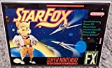 Starfox SNES Game Box 2 x 3 Fridge Locker MAGNET Nintendo