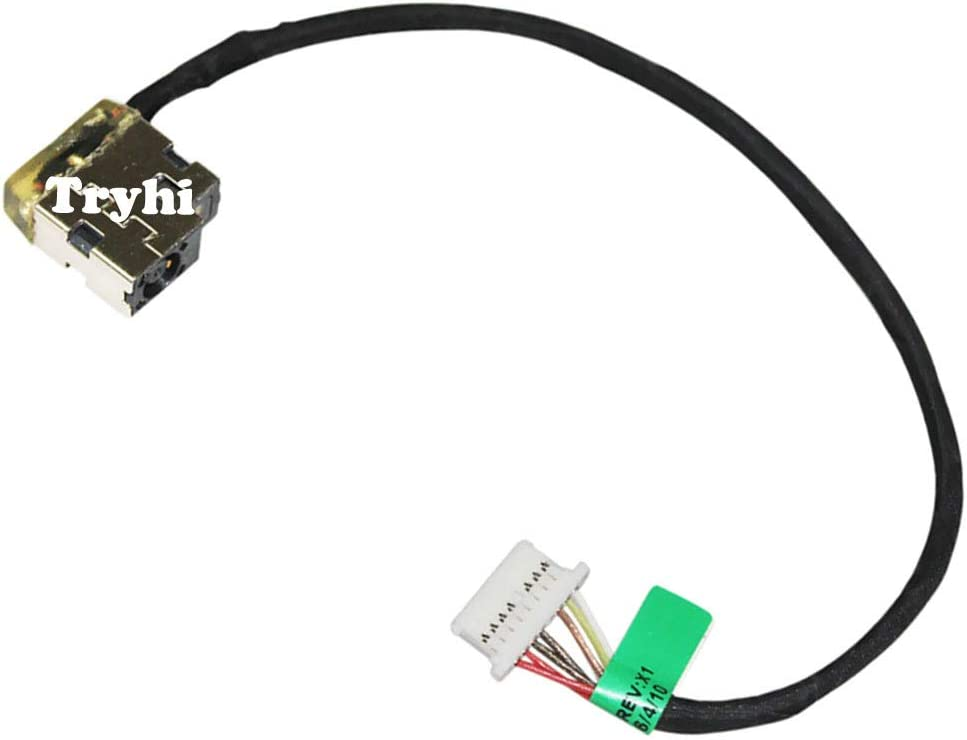 New Laptop AC DC Power Jack Plug in Charging Port Socket Connector with Wire Cable Harness for HP Stream 13-c027tu 13-c028nl 13-c028no 13-c028tu 13-c029nl 13-c030ng 13-c030nr 13-c030tu 13-c032tu