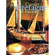 Carnet Bretagne de cuisine