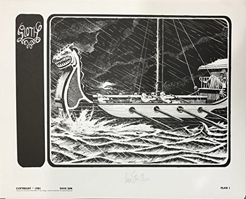 (Dave Sim Signed Pride Lithograph Plate 1)