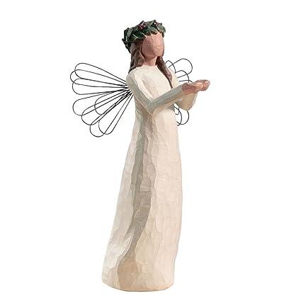 Willow Tree Angel of Christmas Spirit Figurine: Amazon.co.uk: Kitchen & Home - Willow Tree Angel Of Christmas Spirit Figurine: Amazon.co.uk