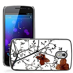 Etui Housse Coque de Protection Cover Rigide pour // M00152723 La helada del invierno Nieve Naturaleza // Samsung Galaxy Nexus GT-i9250 i9250