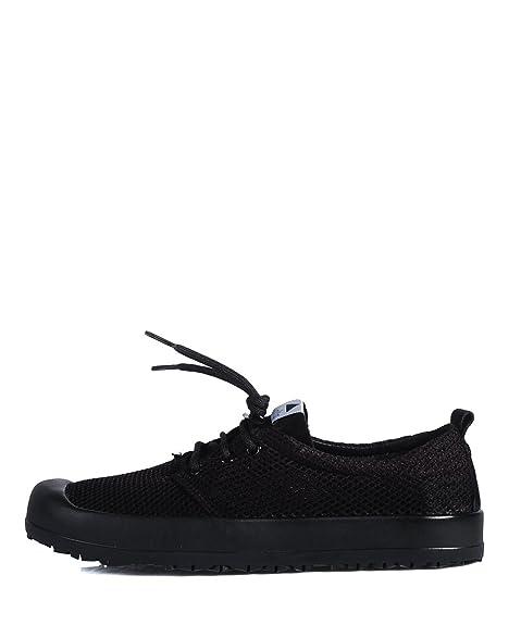big sale e7e88 1aeab VOLTA Gumsole Mesh Black Shoes - Scarpe da Ginnastica Nere ...