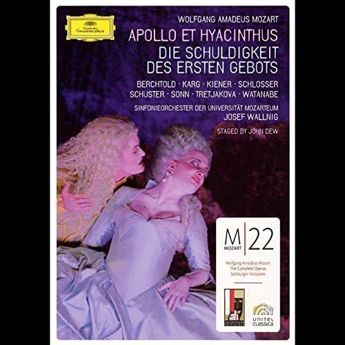 Mozart Apollo Et Hyacinthus Die Schuldigkeit Des Ersten Gebots