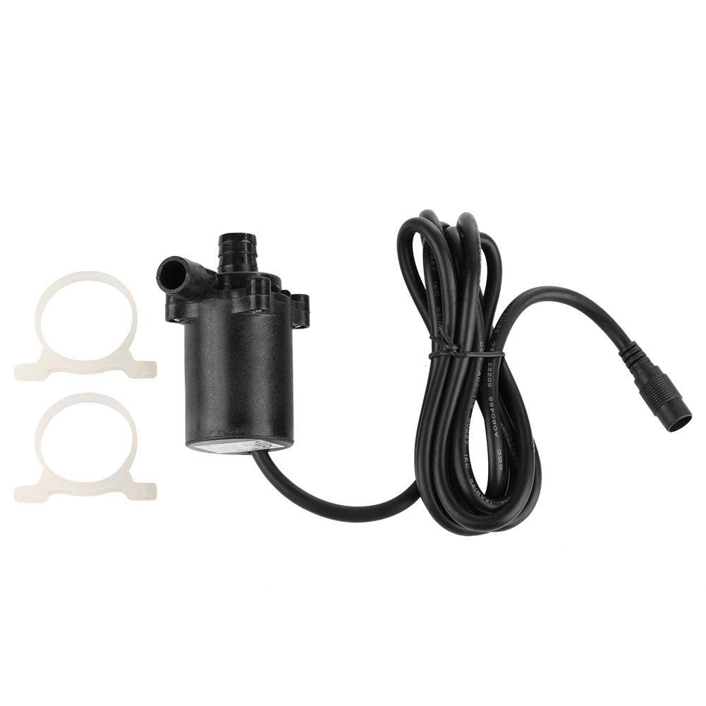 Aufee Micro Brushless Water Pump, 12V 6m 740L/H Brushless Solar Water Pump, Ultra-Quiet Submersible Water Pump for Fountain and Aquarium