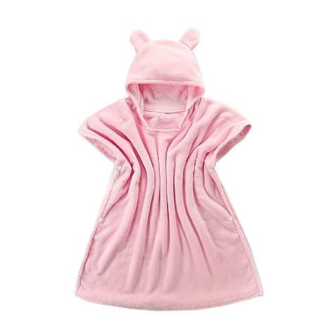 WYQ Toallas de baño con Capucha para niños pequeños Capas de recién ...