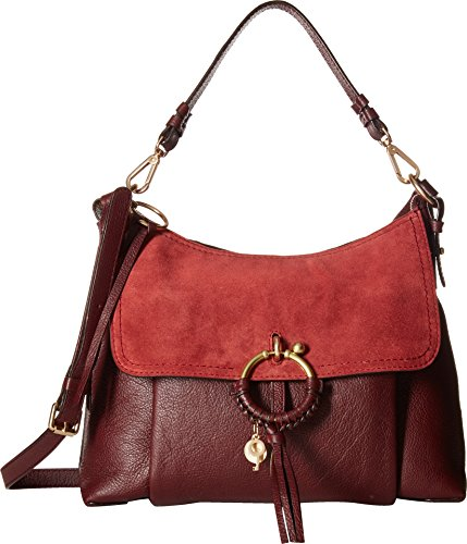 See by Chloe Women's Joan Medium Shoulder Bag Grenat One Size by See by Chloé
