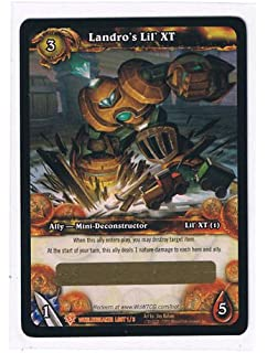Amazon.com: Landro's Lichling Loot Card World of Warcraft WoW TCG ...