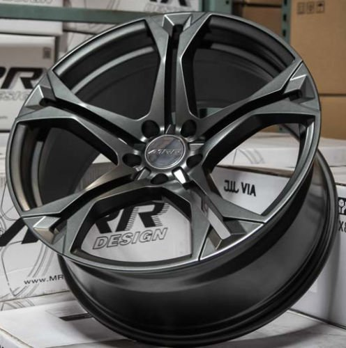 20 20x10//20x11 5x120 MRR M228 Wheels For Chevy Camaro SS RS Z28 Gunmetal Rims Set