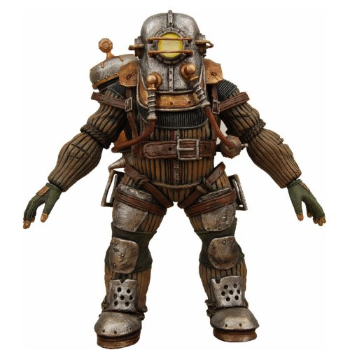 NECA Bioshock 2 Series 2 Ultra Deluxe Action Figure Big Daddy Rosie (Bioshock Big Daddy Ultra Deluxe Action Figure)