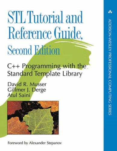 (STL Tutorial and Reference Guide: C++ Programming with the Standard Template Library (2nd)