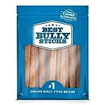 Best Bully Sticks Premium 6-Inch Jumbo Bully Sticks - All-Natural, Free-Range, Grass-Fed, 100% Beef Single-Ingredient Dog Chews 11