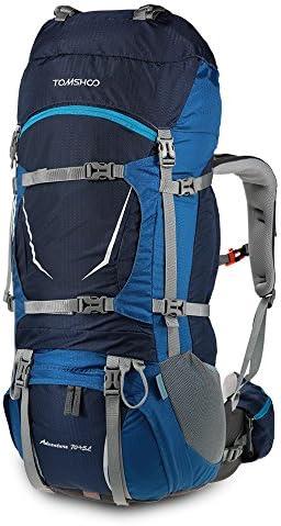 TOMSHOO Backpack Water Resistant Backpacking Mountaineering product image