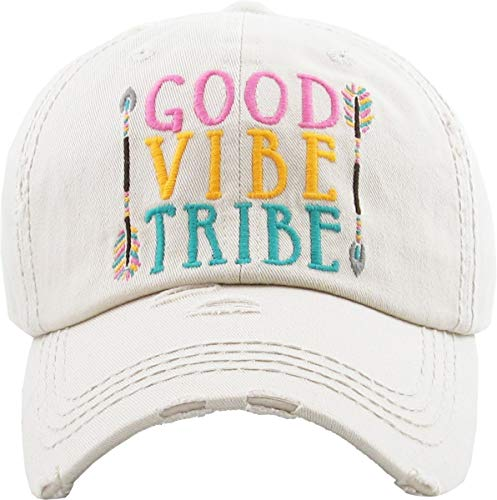 Adjustable Good Vibe Tribe Arrow Aztec Baseball Hat Cap