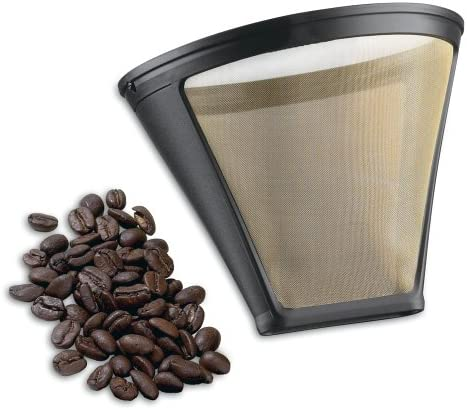 Washable Cuisinart GTF-4 Gold Tone Coffee Filter Cuisinart 4-Cup Coffeemakers