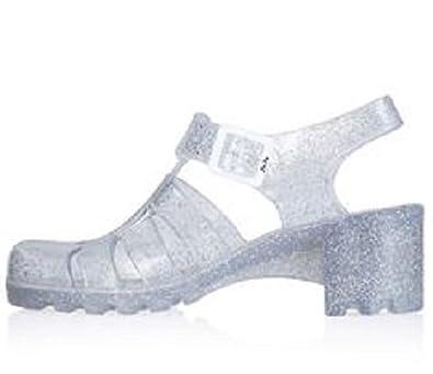 cb1bba4fab4a Topshop Strappy Juju Nina Jelly Sandals RRP £24 (UK 7