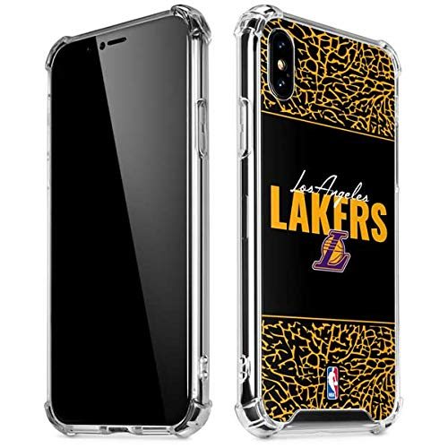 a5acdf1e92e Image Unavailable. Image not available for. Color  Skinit Los Angeles Lakers  Elephant Print iPhone XR Clear Case ...