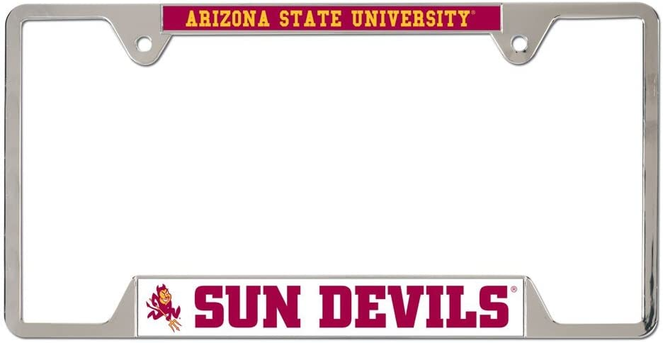WinCraft NCAA Arizona State University Metal License Plate Frame