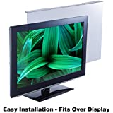 Blue Light Screen Protector Panel For 19 Diagonal LED PC Monitor (W 17.13 X H 11.42) (W435mm x H290mm). Blue Light Blocking up to 100% of Hazardous HEV Blue Light from LED screens. Reduces Digital Eye Strain to benefit eye health. For office or home PCs to promote Healthy Eyes for Working People. For 19 inch diagonal viewing area of your wide screen monitor.