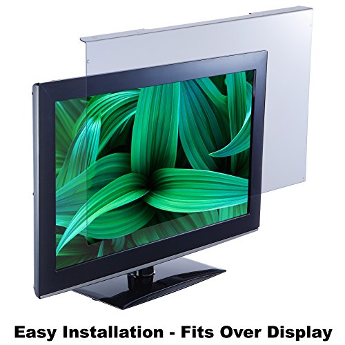 Blue Light Screen Protector Panel For 26'/27'/28' Diagonal LED PC Monitor (W 24.80' X H 15.55') (W630mm x 395mm). Blue Light Blocking up to 100% of Hazardous HEV Blue Light from LED screens. Reduces Digital Eye Strain to benefit eye health. For office or home PC's to promote Healthy Eyes for Working People. For 26'-28' diagonal screen.